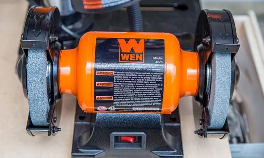 Admirable The Wen 4276 6 Inch Bench Grinder Topbenchgrinders Com Theyellowbook Wood Chair Design Ideas Theyellowbookinfo