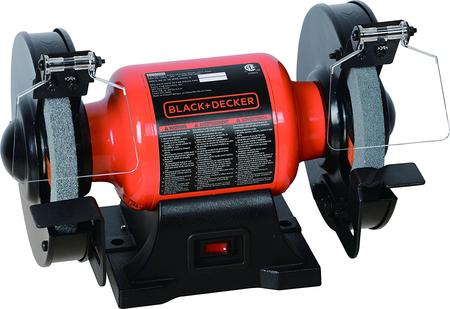 Black+Decker BG1500BD Single Speed Bench Grinder