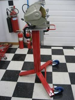 Bench-Grinder-Stand-on-Wheels